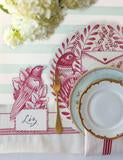 Die Cut Love Letter Placemat