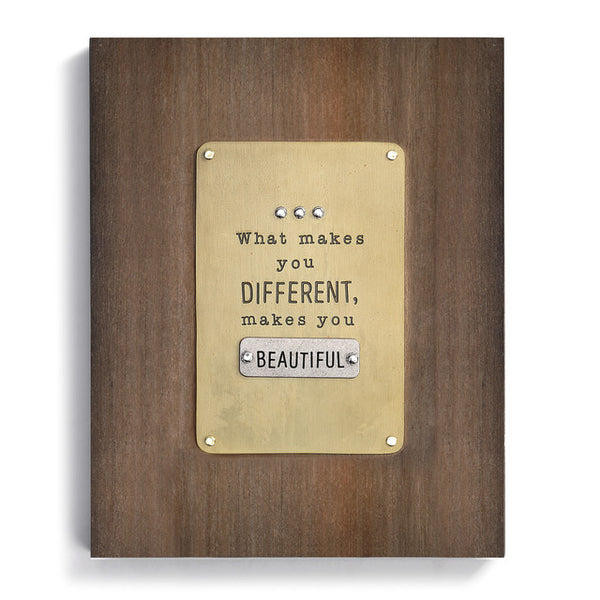 'What Makes You Different' Wall Art