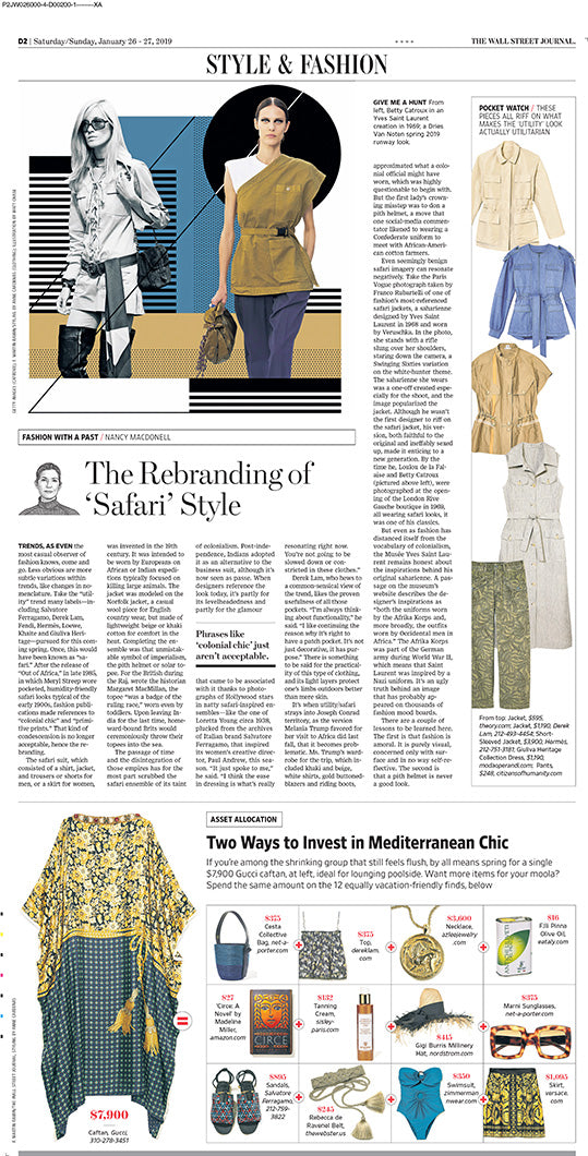 Citizens of Humanity Una Surplus Pant in Wall Street Journal