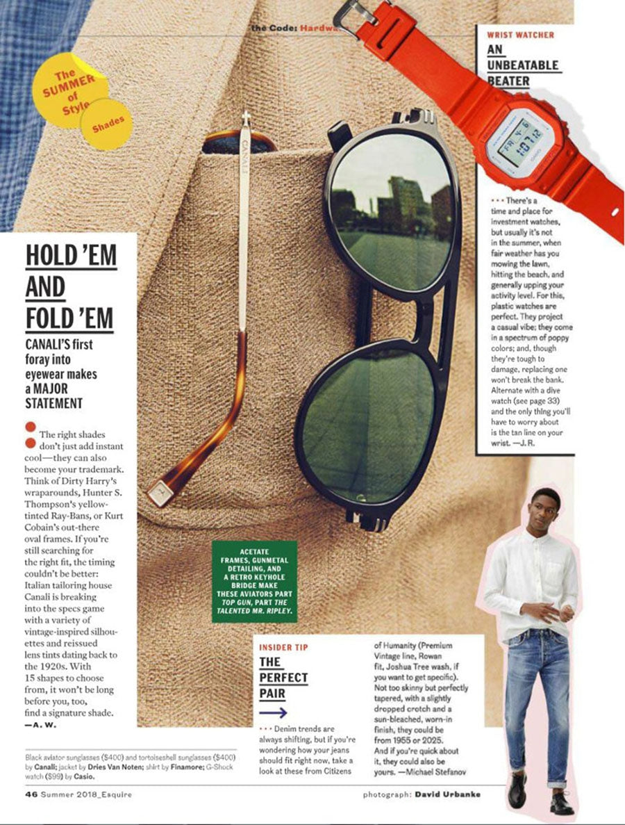 Rowan Relaxed Slim Crop in Joshua Tree featured in Esquire