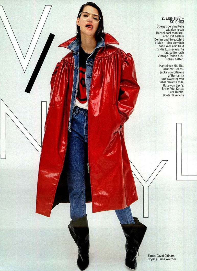 Nica Slim Fit Jacket and the Liya High Rise Classic Fit Jean in Glamour Germany
