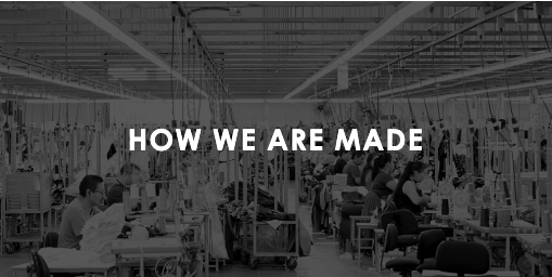 How we are Made