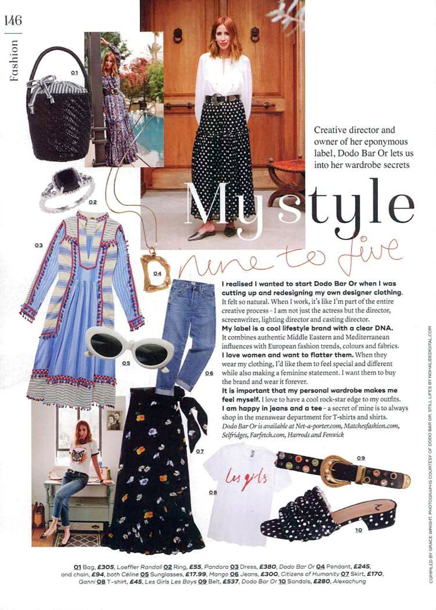 Liya Classic High Rise in Admire featured in Marie Claire