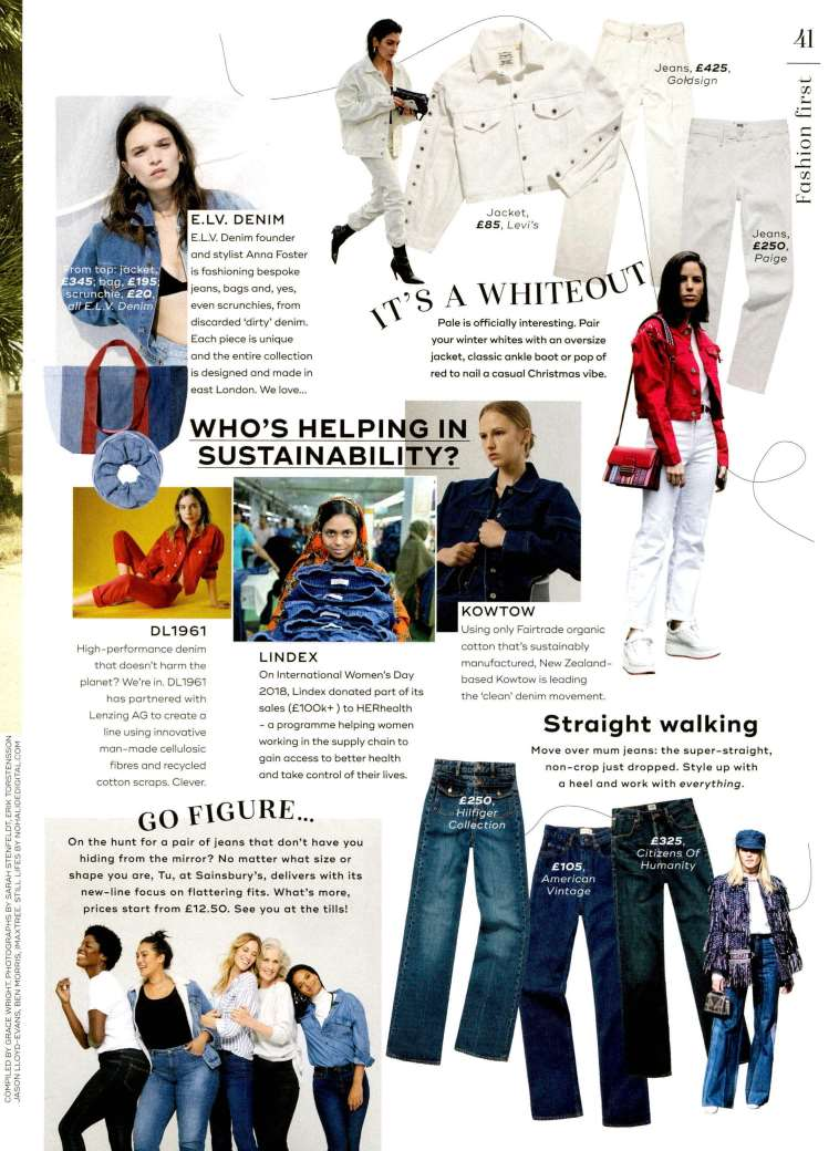 Annina Trouser Jean featured in Marie Claire UK
