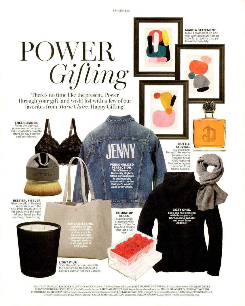 Nica Jacket in Everlasting featured in Marie Claire
