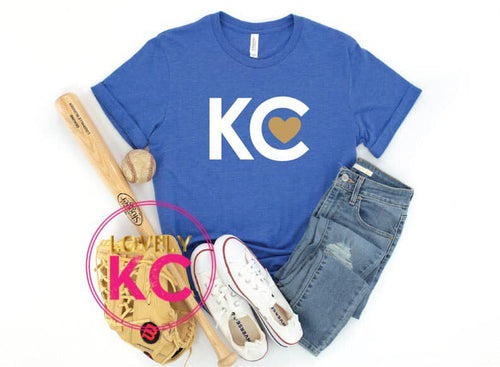 PRE-ORDER - KC Love Blue Series T-Shirt