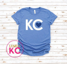 Load image into Gallery viewer, PRE-ORDER - KC Love Blue Series T-Shirt