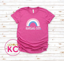 Load image into Gallery viewer, PRE-ORDER - Over the Rainbow KC T-Shirt - Royals