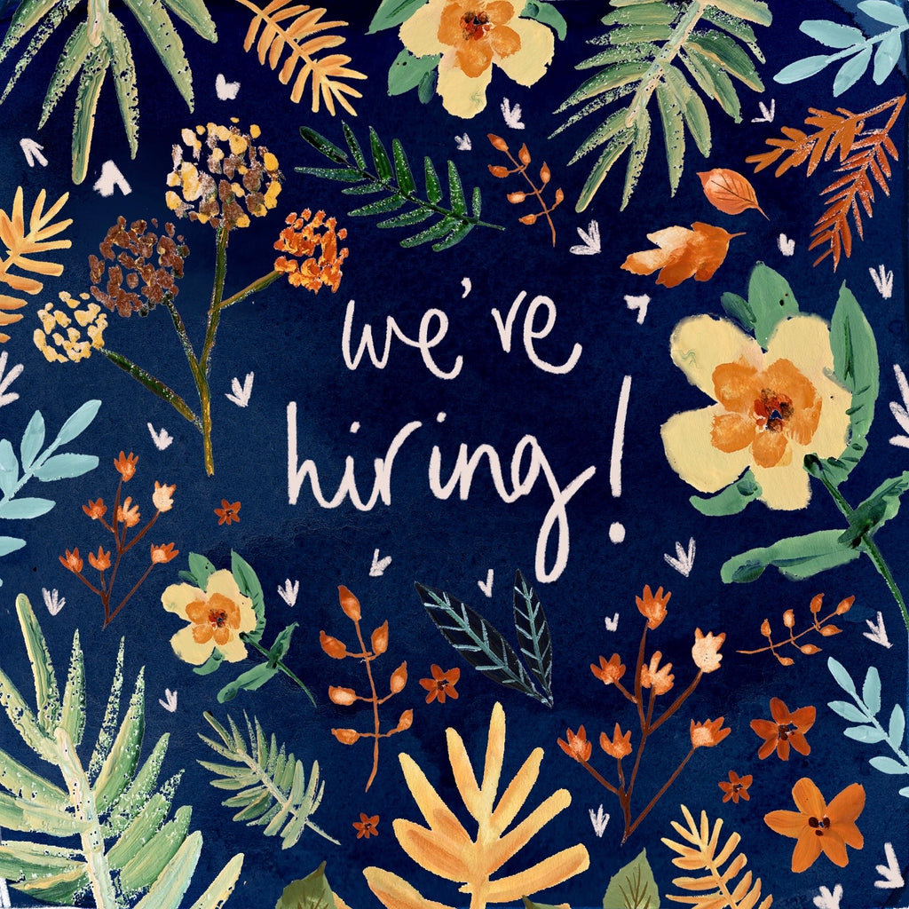 We're Hiring! Bookkeeper/Accountant | Graphic Designer | Operations Coordinator