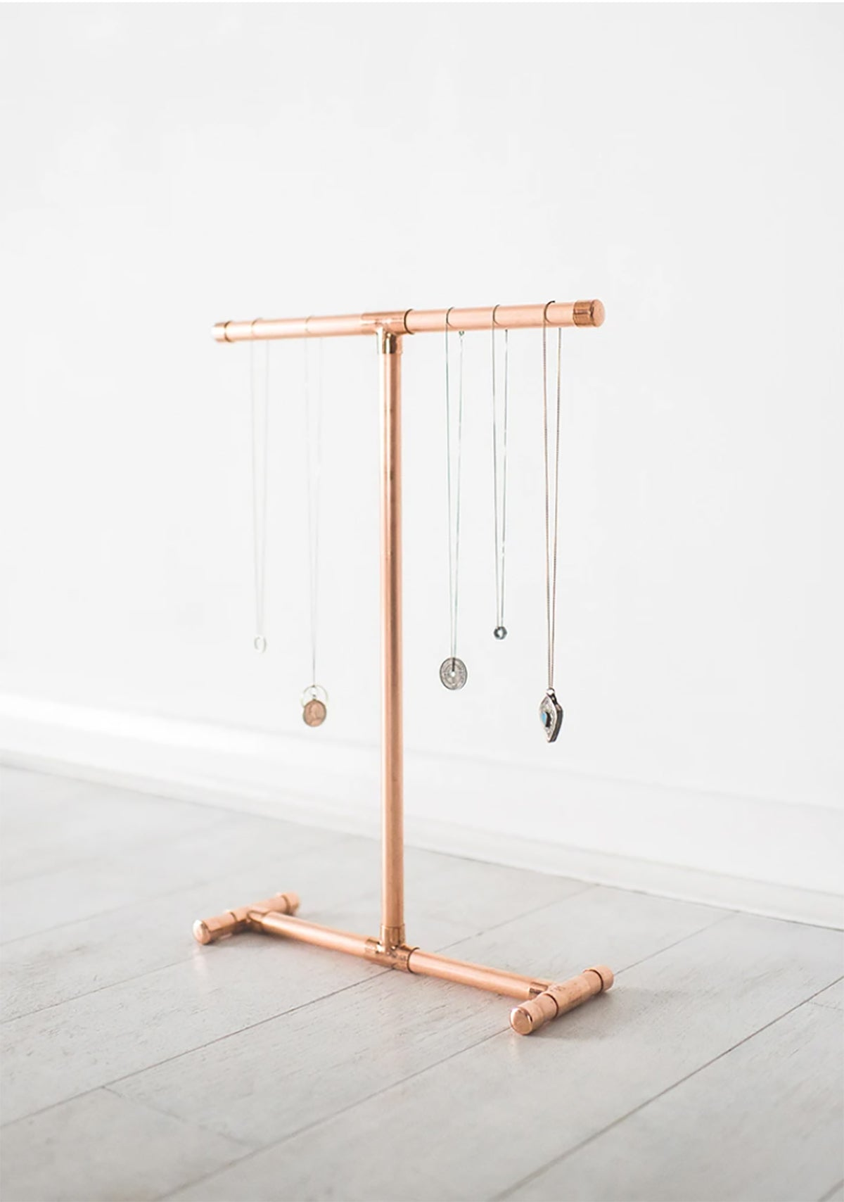 Littel Deer - Copper Pipe Jewellery Stand for Necklaces