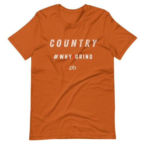 country - why i grind (white letters) - PlayBook Athlete