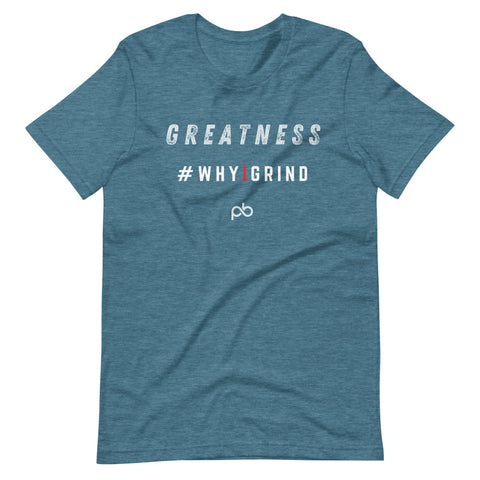 greatness - why i grind (white letters) - PlayBook Athlete