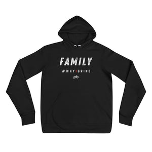 family - why i grind hoodie - PlayBook Athlete