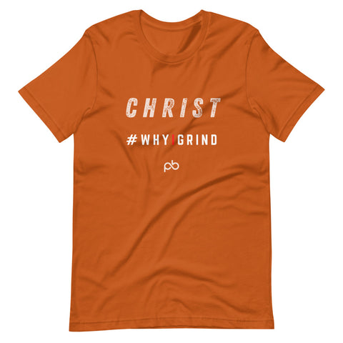 Christ - why i grind (white letters) - PlayBook Athlete
