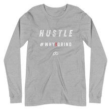 Load image into Gallery viewer, hustle - why i grind LS - PlayBook Athlete