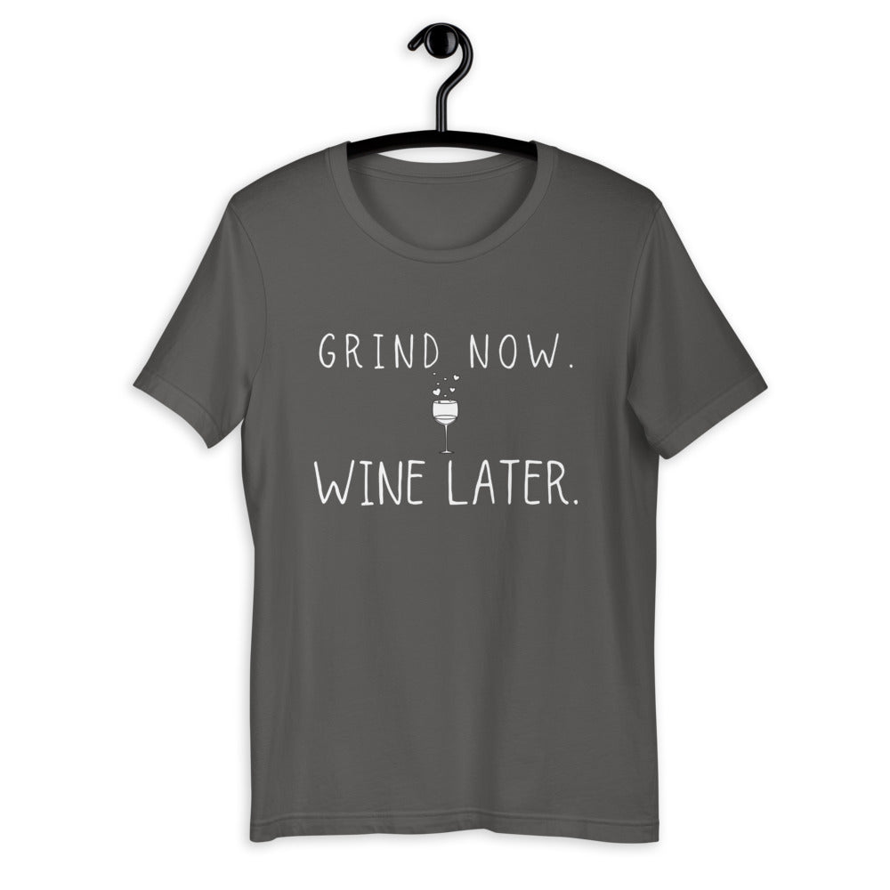 Grind Now Wine Later - PlayBook Athlete