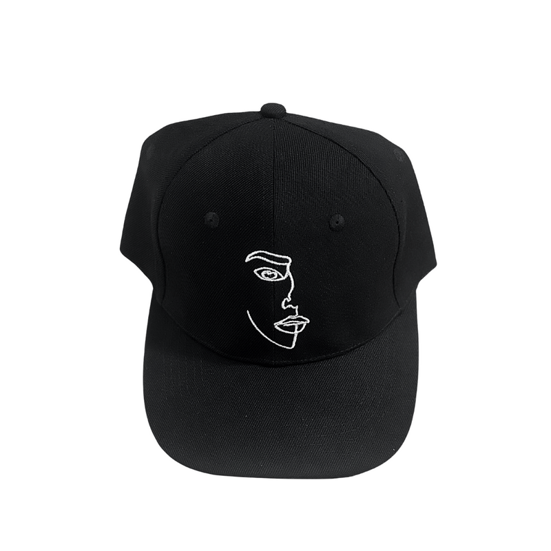 Face Hat Black