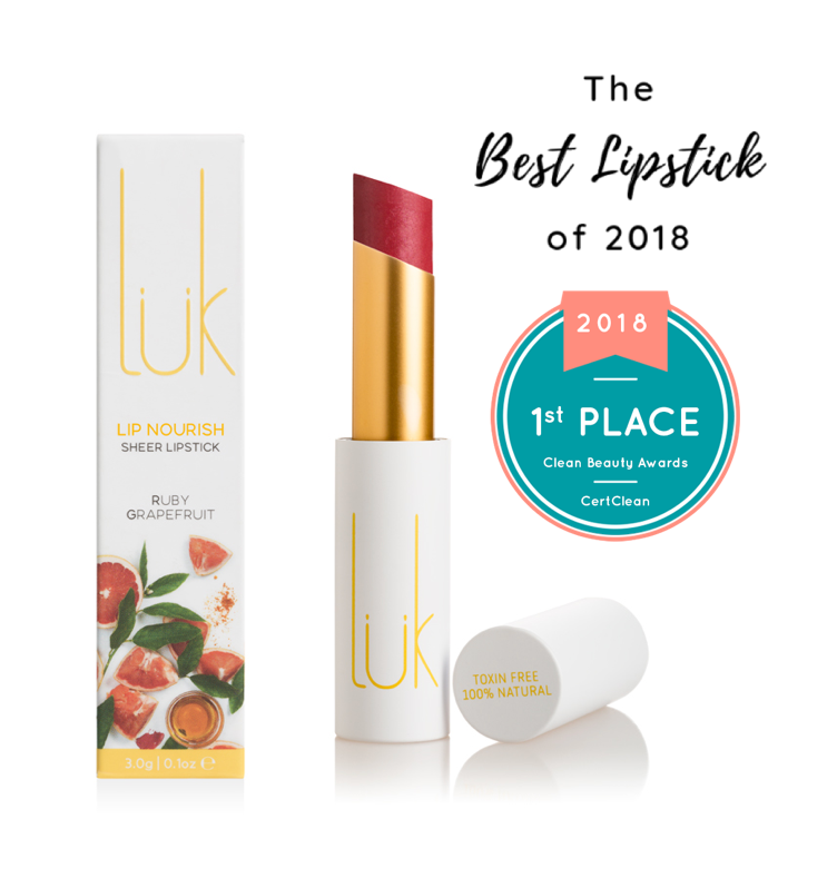 Luk Lip Nourish Natural Lipstick - Ruby Grapefruit 3g