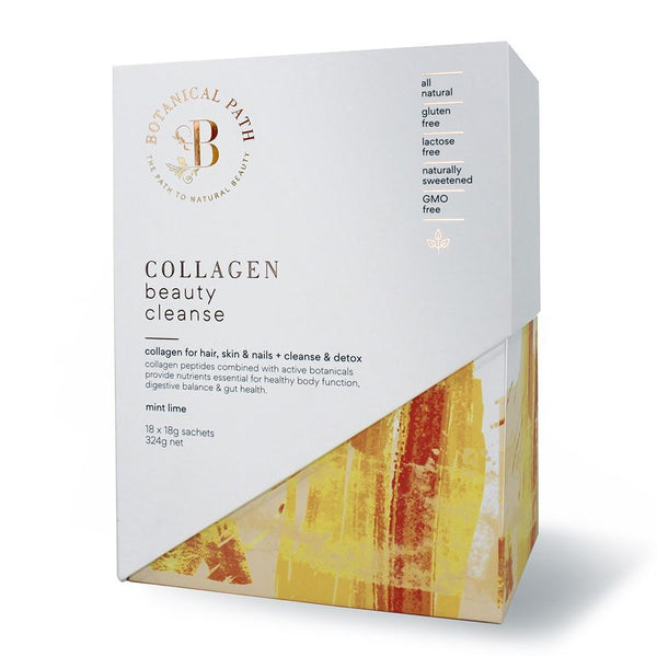 Botanical Path Collagen Beauty Cleanse - Mint Lime