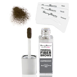 Cherry Blooms Fibre Brow Kit with Stencils - Espresso