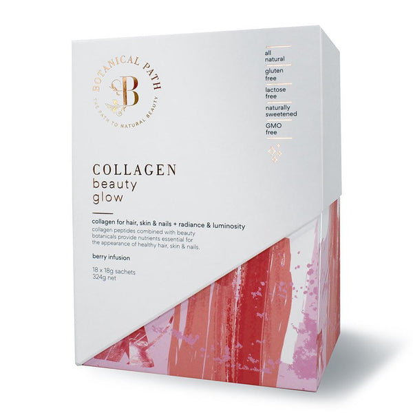 Botanical Path Collagen Beauty Glow - Berry Infusion