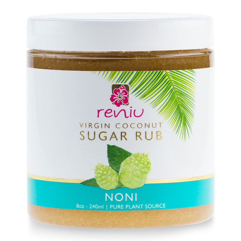Pure Fiji Reniu Sugar Rub 236ml