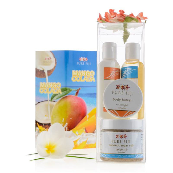 Pure Fiji Colada Glow Spa Box - Mango Coconut
