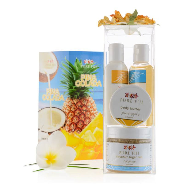 Pure Fiji Colada Glow Spa Box - Pineapple Coconut