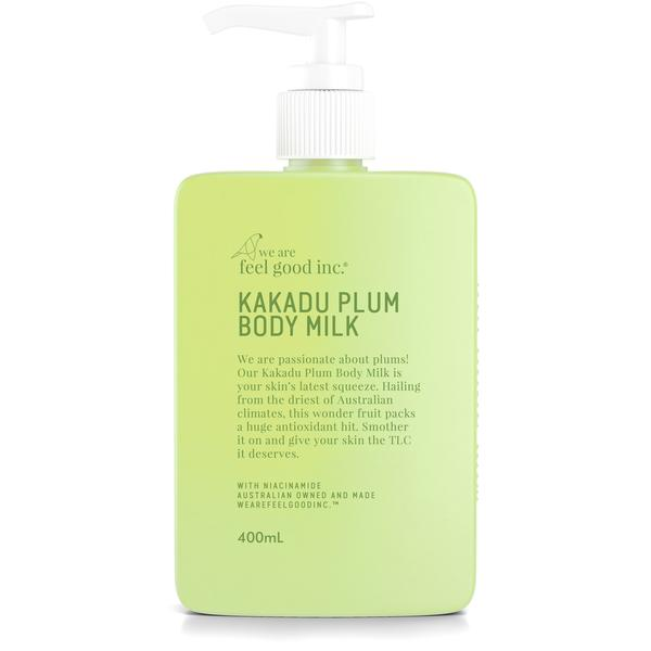 We Are Feel Good Kakadu Plum Body Milk Moisturiser 400ml