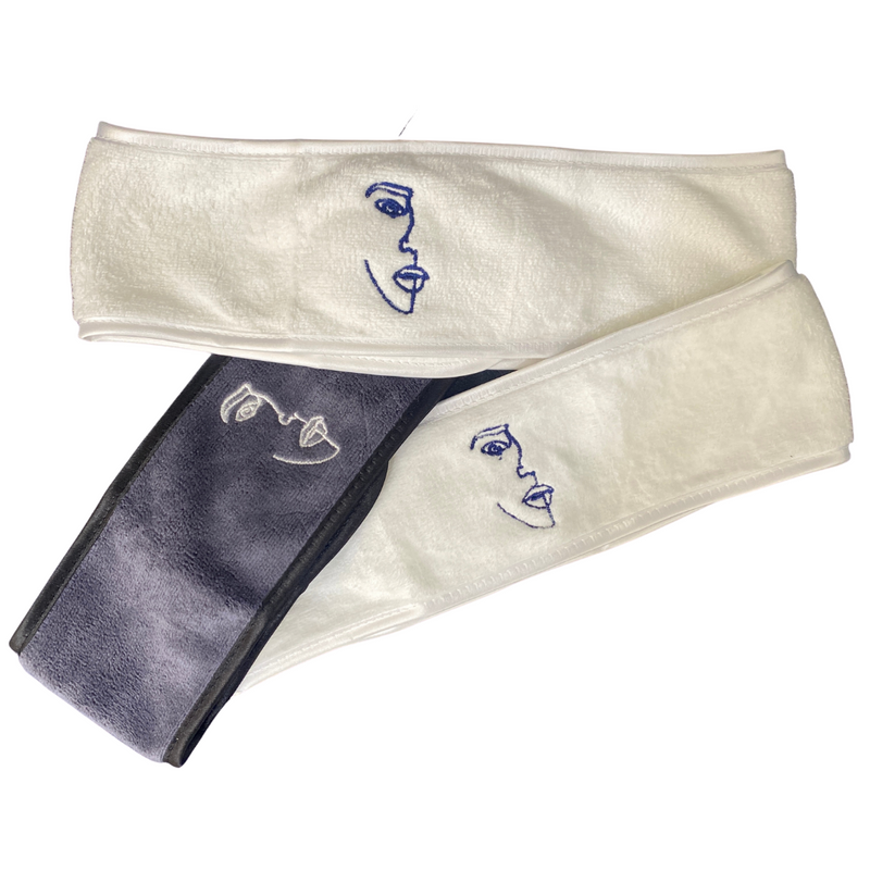 Face Microfibre Headband 3 Pack