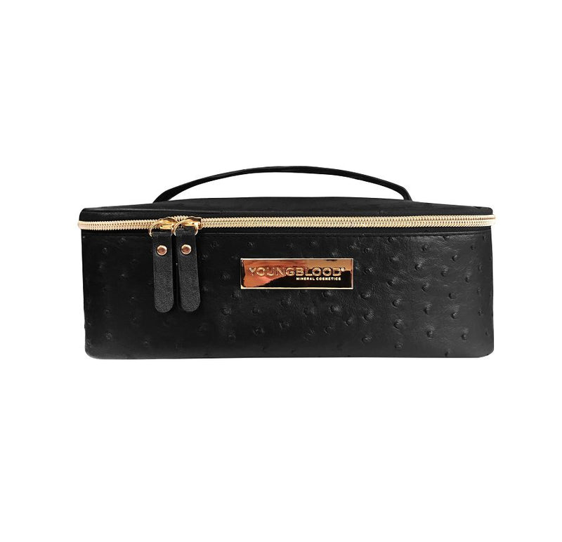Youngblood Ostrich Cosmetic Bag