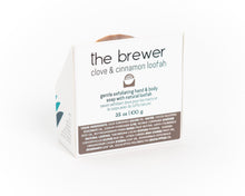 Load image into Gallery viewer, The Brewer | Clove & Cinnamon Loofah Soap