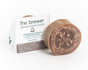 The Brewer | Clove & Cinnamon Loofah Soap