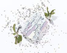 Load image into Gallery viewer, The Gardener | Lavender and Rosemary Exfoliating Soap