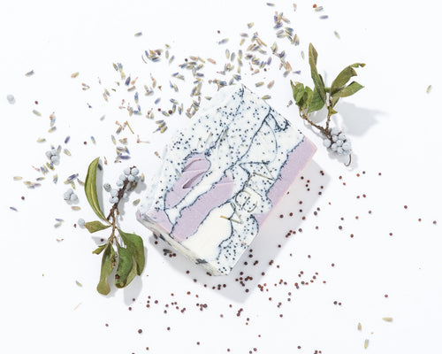 The Gardener | Lavender and Rosemary Exfoliating Soap