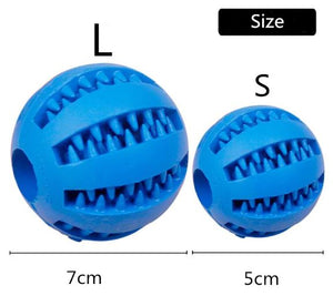 Puppy Chew Toy Food Dispenser Ball