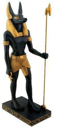 Egyptian Anubis -Collectible Figurine Statue Figure Sculpture Egypt Multied @ Sons of Odin™ -Men's