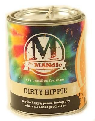 'Dirty Hippie' Scented Man Candle