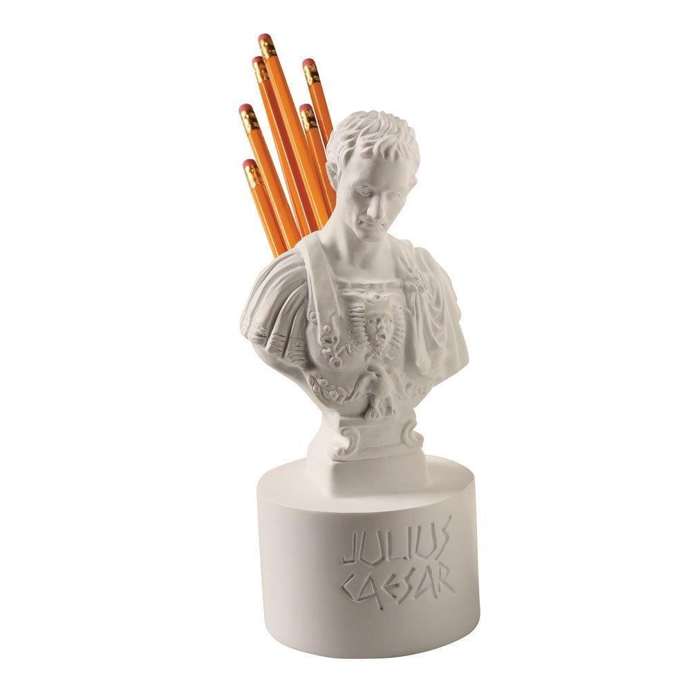 Ides of March Pen and Pencil Holder - Julius Caesar Office Desk Accessory - SonsofOdin Co Goth Viking Biker Jewellry