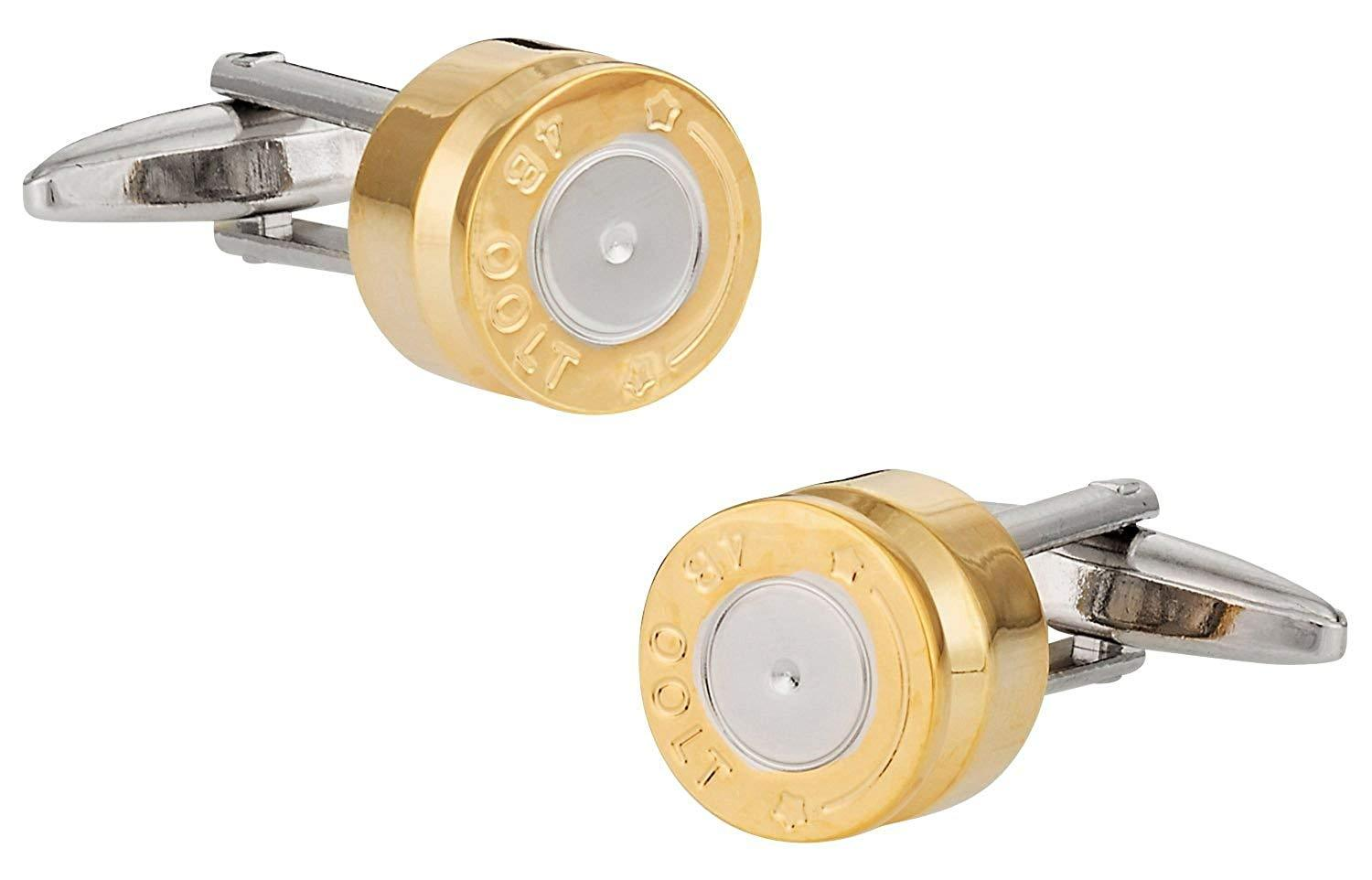 Cuff-Daddy Spent Bullet Casing Cufflinks with Presentation Box