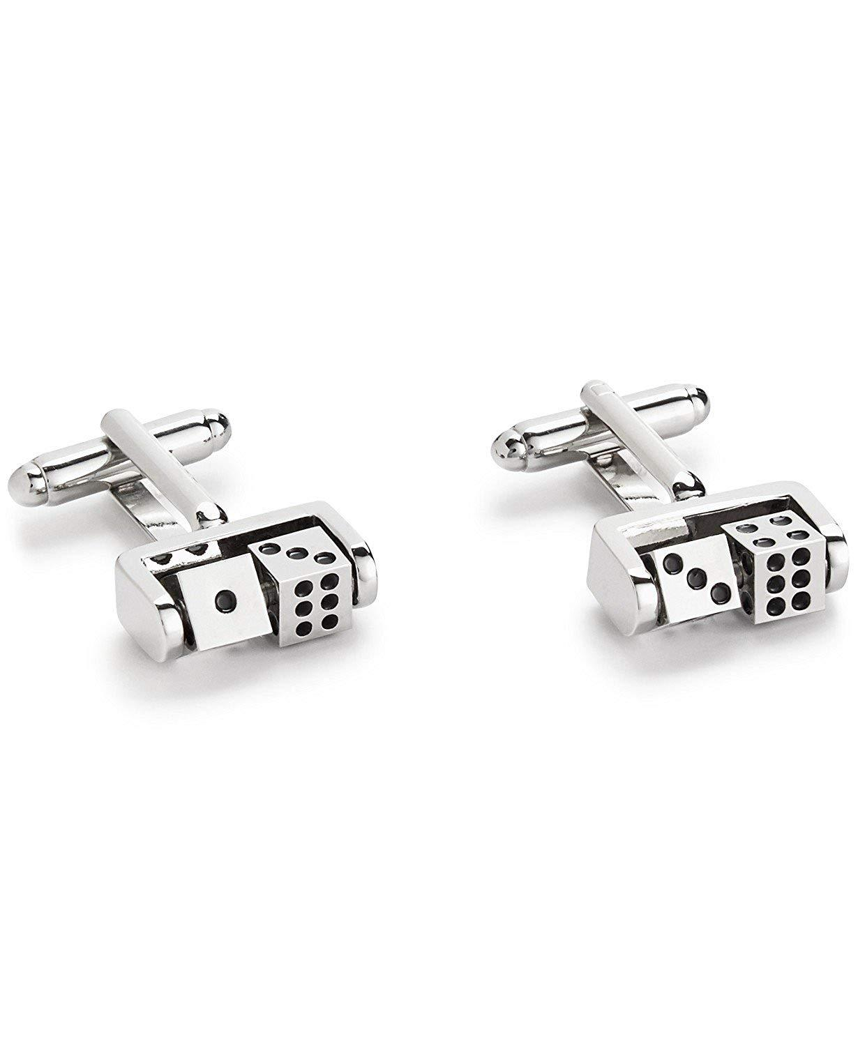 the Gift Men's Dice Cuff Links