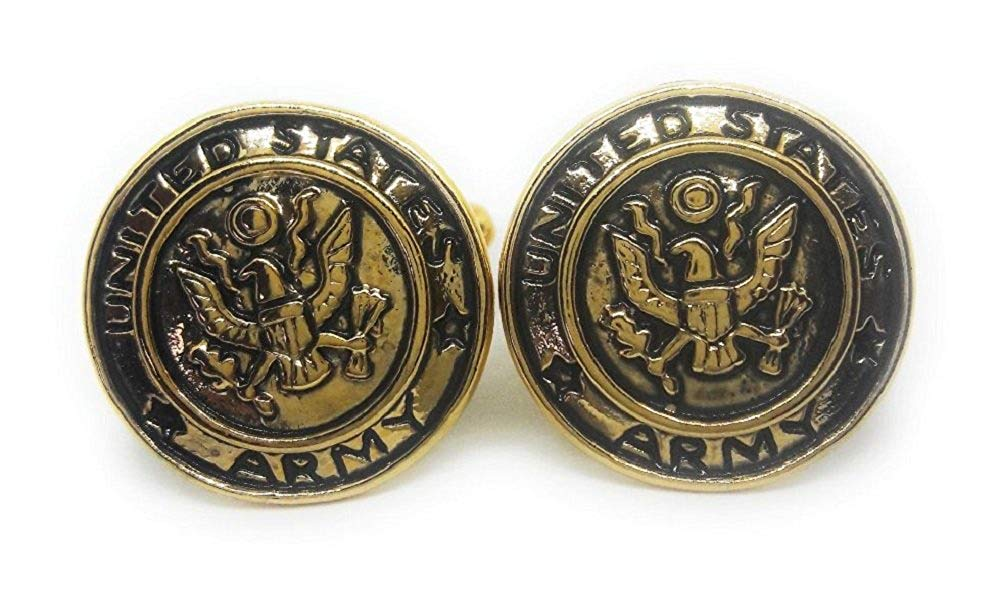MENZ JEWELRY ACCS. U.S.Army Cufflinks Manufacturers Direct Pricing!!!!