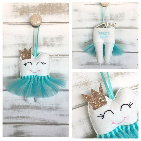 Troodles - Personalized Tooth Fairy Pillows