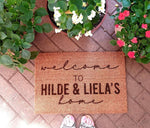 Chicken-Mouse Designs - Personalised Door Mats (70x40cm)