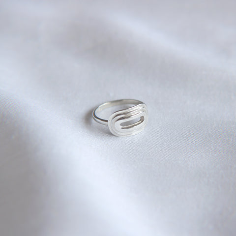 Oval Step Ring