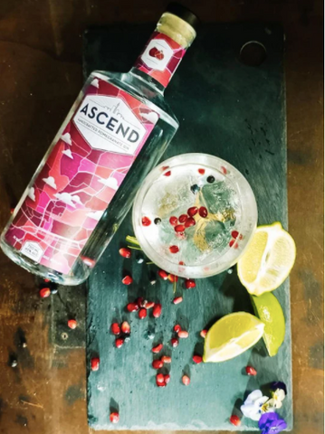 Ascend Gin Pomegranate Gift Set
