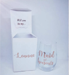 Ready to Go - Proposal Glass Gift Set