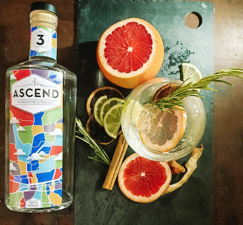 Ascend Gin Citrus Gift Set