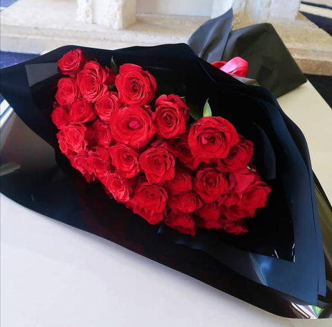 YDAL - Classic Red Rose Valentines Bouquets