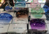 Clear Face Masks - with Glasses